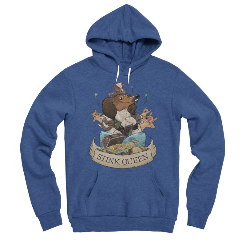 Stink Queen Men's Sponge Fleece Pullover Hoody by DnDoggos's Artist Shop