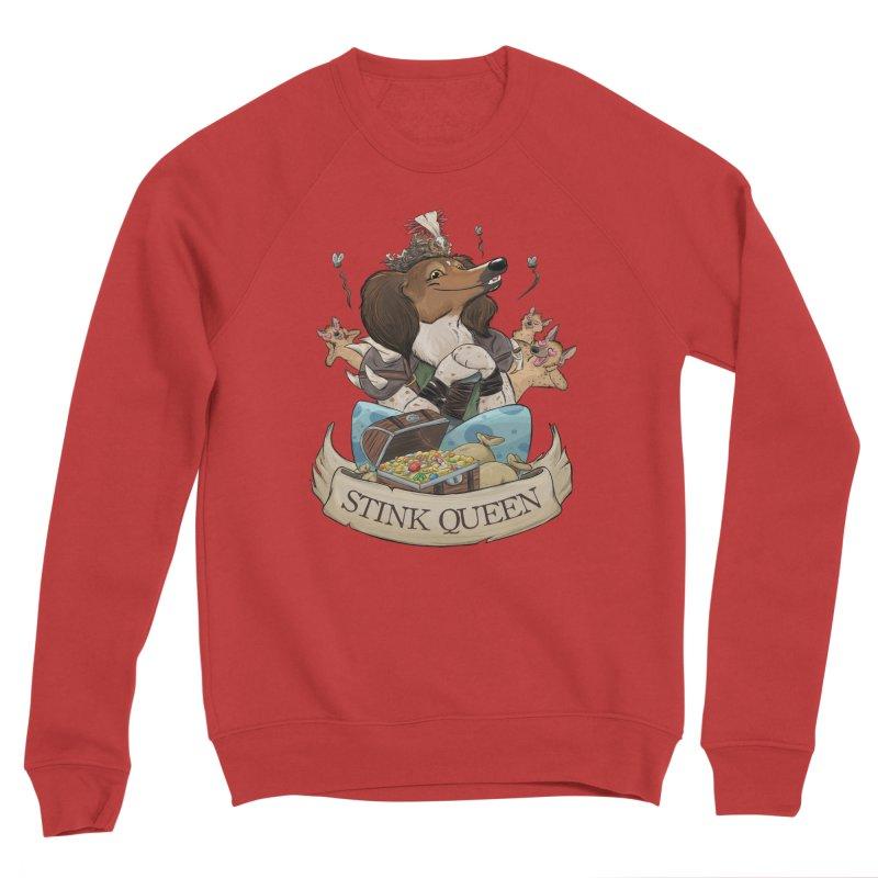 Stink Queen Women's Sponge Fleece Sweatshirt by DnDoggos's Artist Shop