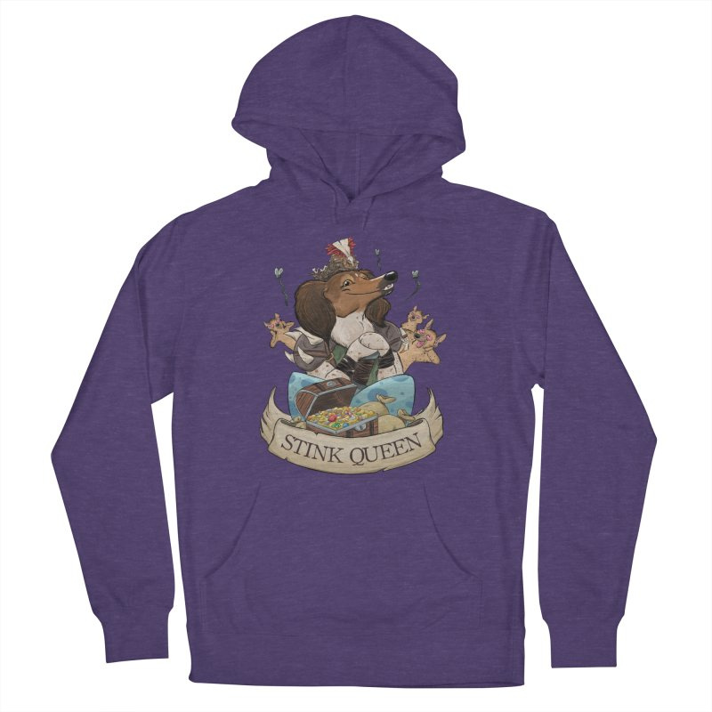 Stink Queen Women's French Terry Pullover Hoody by DnDoggos's Artist Shop