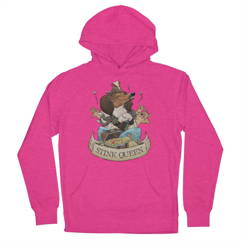 Stink Queen Men's French Terry Pullover Hoody by DnDoggos's Artist Shop