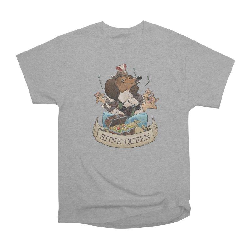 Stink Queen Women's Heavyweight Unisex T-Shirt by DnDoggos's Artist Shop