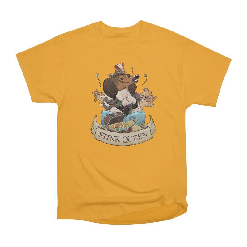 Stink Queen Women's Heavyweight Unisex T-Shirt by DnDoggos's Artist Shop