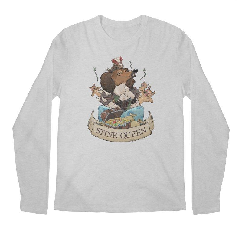 Stink Queen Men's Regular Longsleeve T-Shirt by DnDoggos's Artist Shop