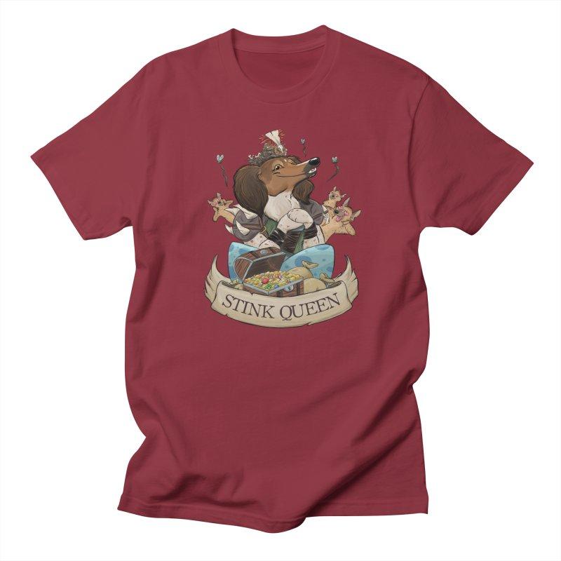 Stink Queen Men's Regular T-Shirt by DnDoggos's Artist Shop