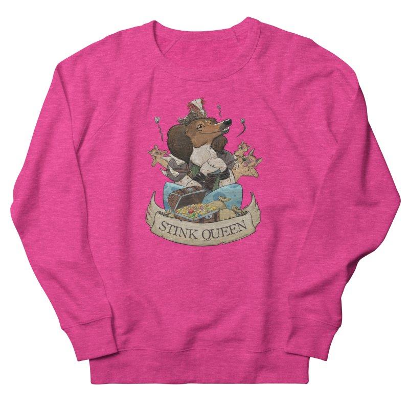 Stink Queen Men's French Terry Sweatshirt by DnDoggos's Artist Shop