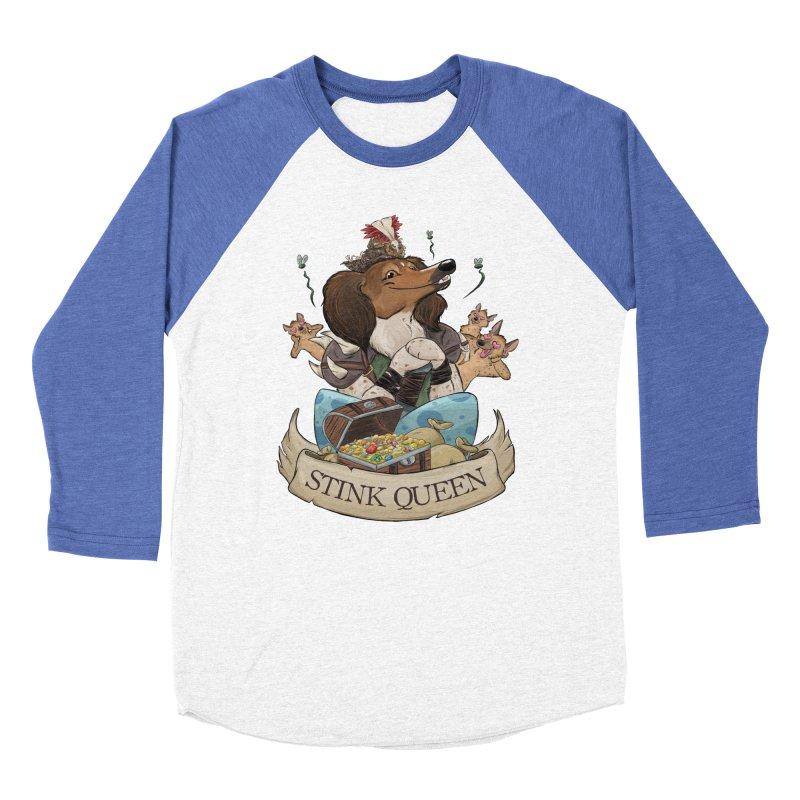 Stink Queen Women's Baseball Triblend Longsleeve T-Shirt by DnDoggos's Artist Shop
