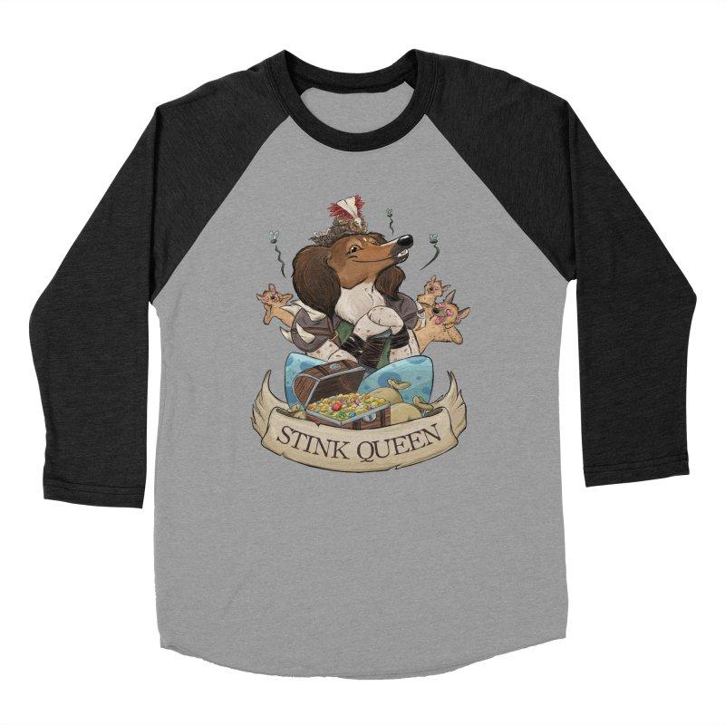 Stink Queen Men's Baseball Triblend Longsleeve T-Shirt by DnDoggos's Artist Shop