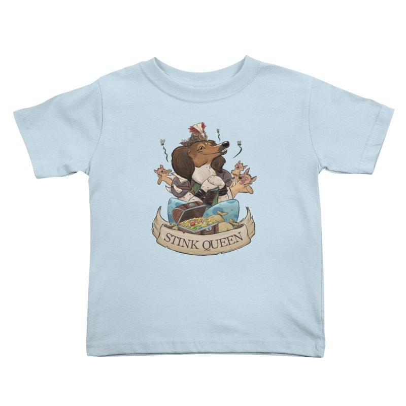 Stink Queen Kids Toddler T-Shirt by DnDoggos's Artist Shop
