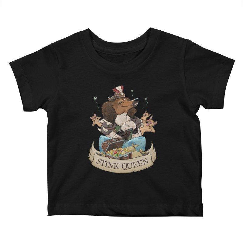 Stink Queen Kids Baby T-Shirt by DnDoggos's Artist Shop