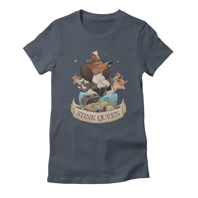 Stink Queen Women's T-Shirt by DnDoggos's Artist Shop