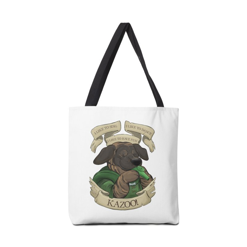 KAZOO! Tonka the Bard Accessories Tote Bag Bag by DnDoggos's Artist Shop