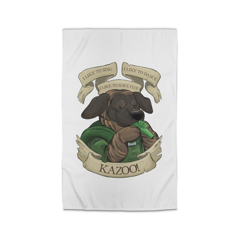 KAZOO! Tonka the Bard Home Rug by DnDoggos's Artist Shop