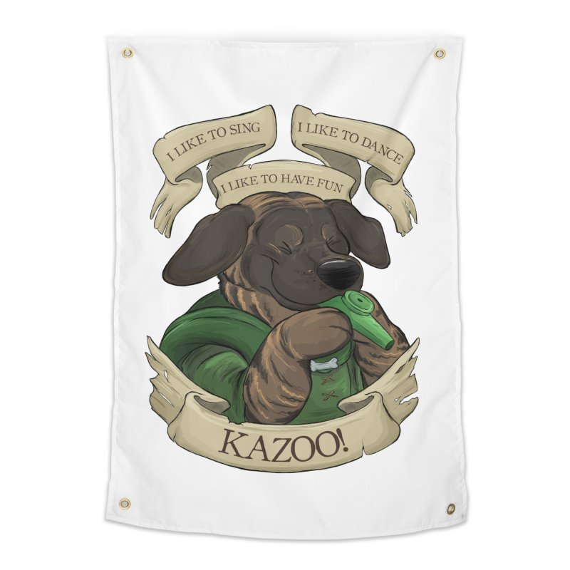 KAZOO! Tonka the Bard Home Tapestry by DnDoggos's Artist Shop