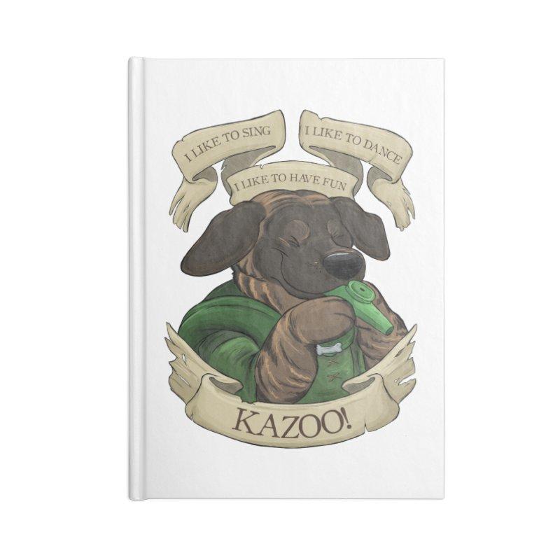 KAZOO! Tonka the Bard Accessories Notebook by DnDoggos's Artist Shop