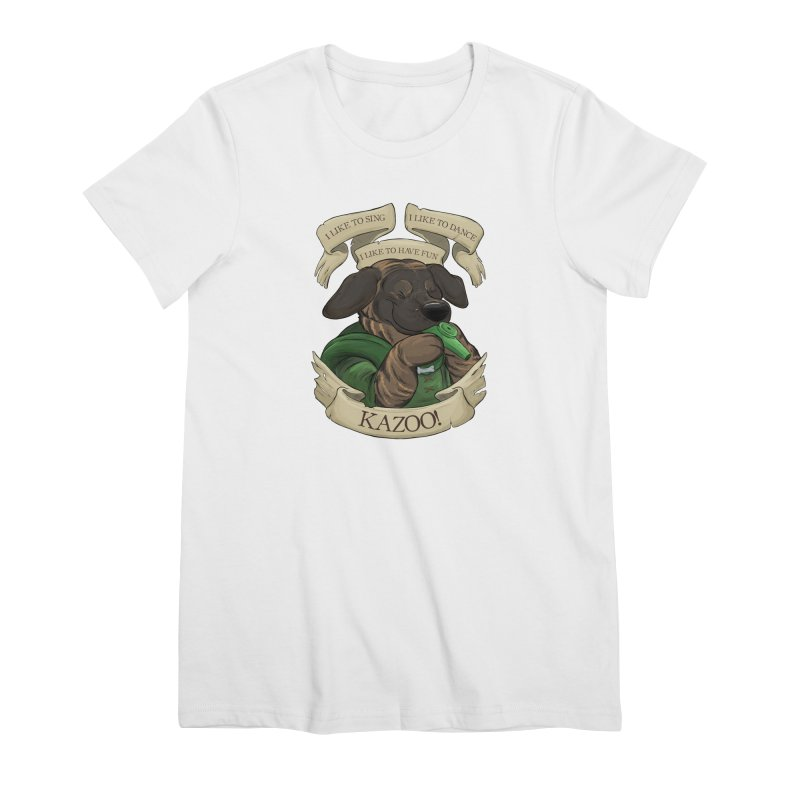 KAZOO! Tonka the Bard Women's Premium T-Shirt by DnDoggos's Artist Shop