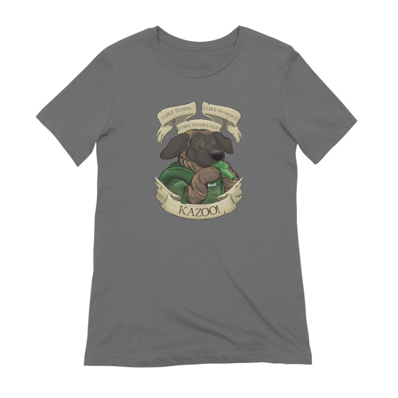 KAZOO! Tonka the Bard Women's Extra Soft T-Shirt by DnDoggos's Artist Shop