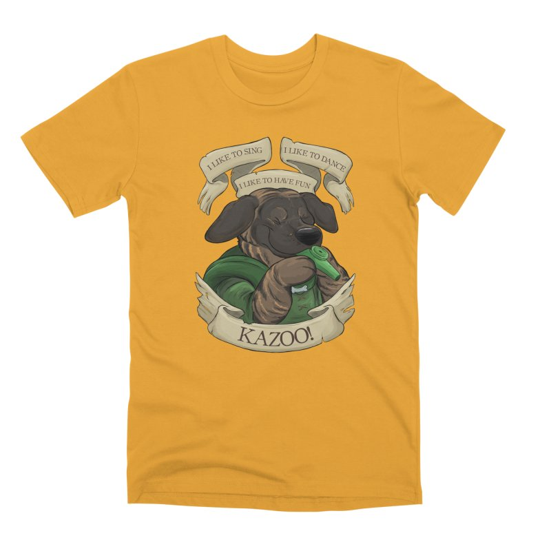 KAZOO! Tonka the Bard Men's Premium T-Shirt by DnDoggos's Artist Shop