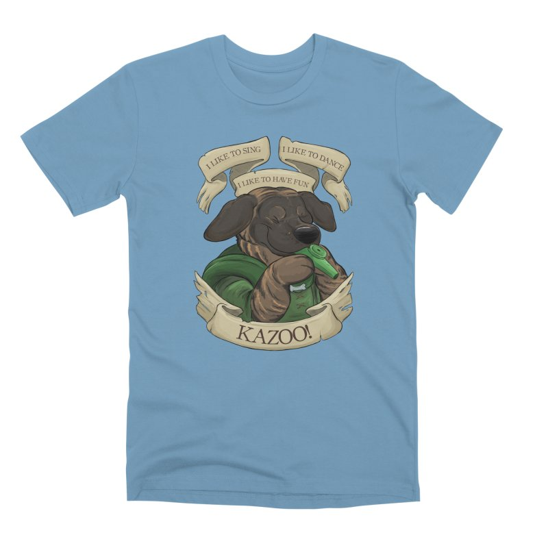 KAZOO! Tonka the Bard Men's Premium T-Shirt by DnDoggos's Artist Shop