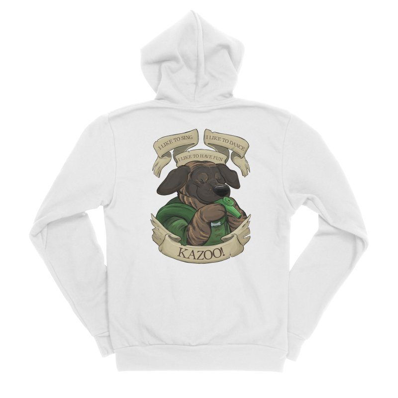KAZOO! Tonka the Bard Women's Sponge Fleece Zip-Up Hoody by DnDoggos's Artist Shop