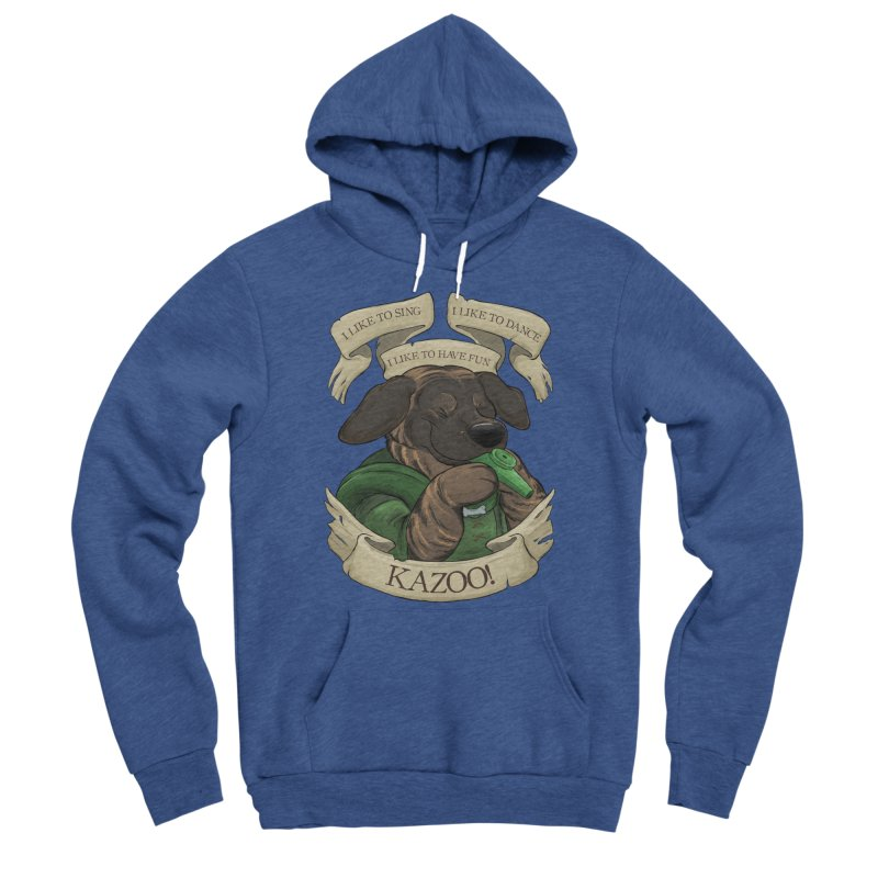 KAZOO! Tonka the Bard Women's Sponge Fleece Pullover Hoody by DnDoggos's Artist Shop