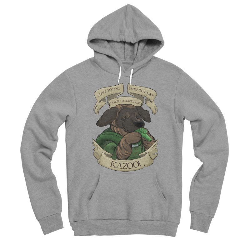 KAZOO! Tonka the Bard Men's Sponge Fleece Pullover Hoody by DnDoggos's Artist Shop