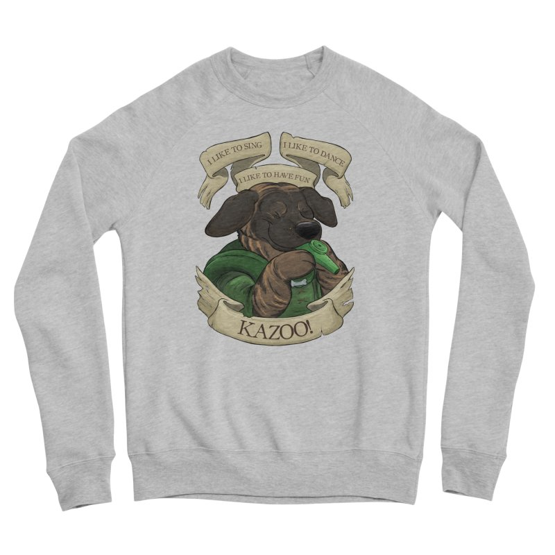 KAZOO! Tonka the Bard Men's Sponge Fleece Sweatshirt by DnDoggos's Artist Shop