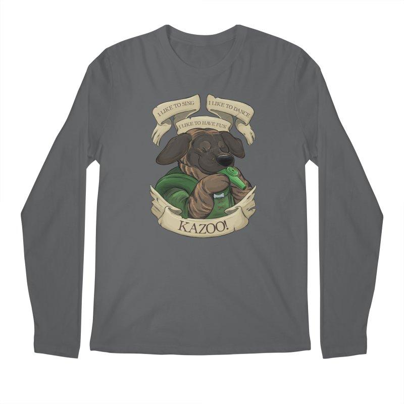 KAZOO! Tonka the Bard Men's Longsleeve T-Shirt by DnDoggos's Artist Shop