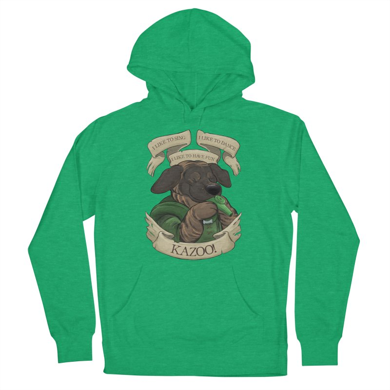 KAZOO! Tonka the Bard Women's French Terry Pullover Hoody by DnDoggos's Artist Shop