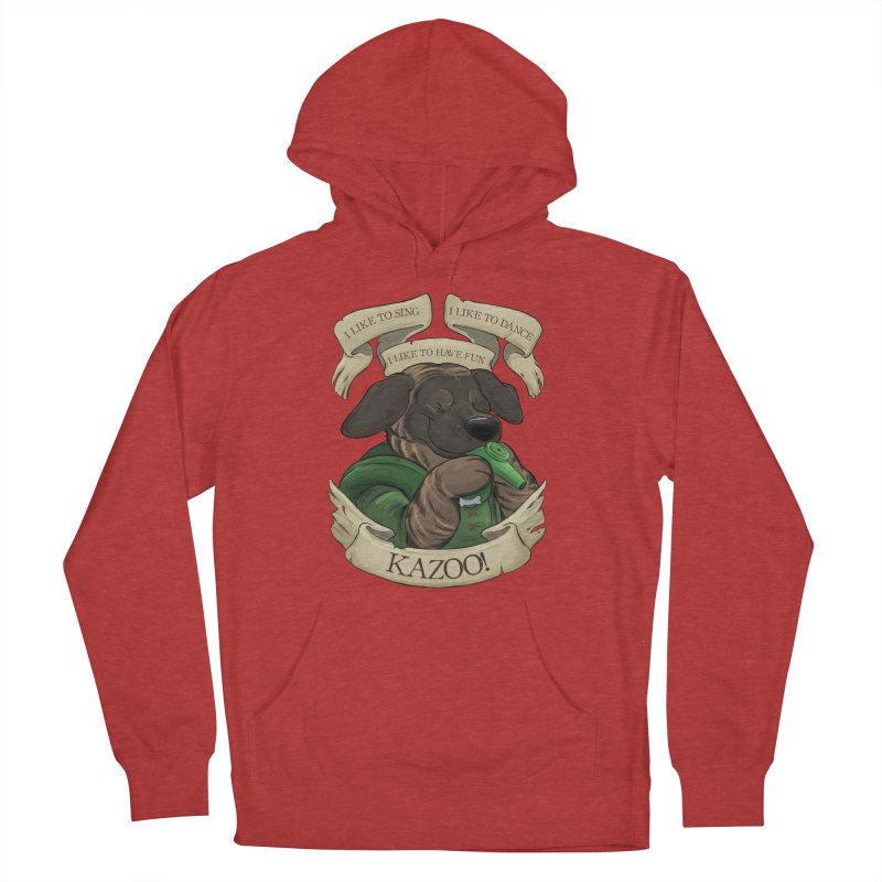 KAZOO! Tonka the Bard Men's French Terry Pullover Hoody by DnDoggos's Artist Shop