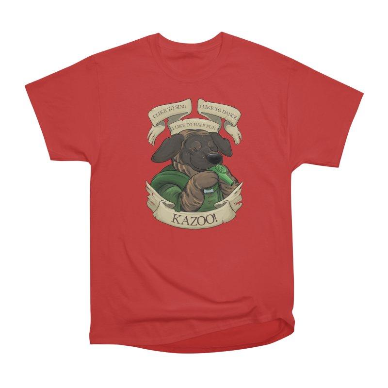 KAZOO! Tonka the Bard Women's Heavyweight Unisex T-Shirt by DnDoggos's Artist Shop