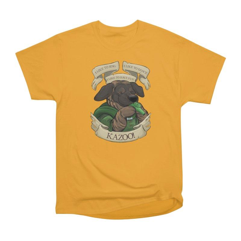 KAZOO! Tonka the Bard Men's Heavyweight T-Shirt by DnDoggos's Artist Shop