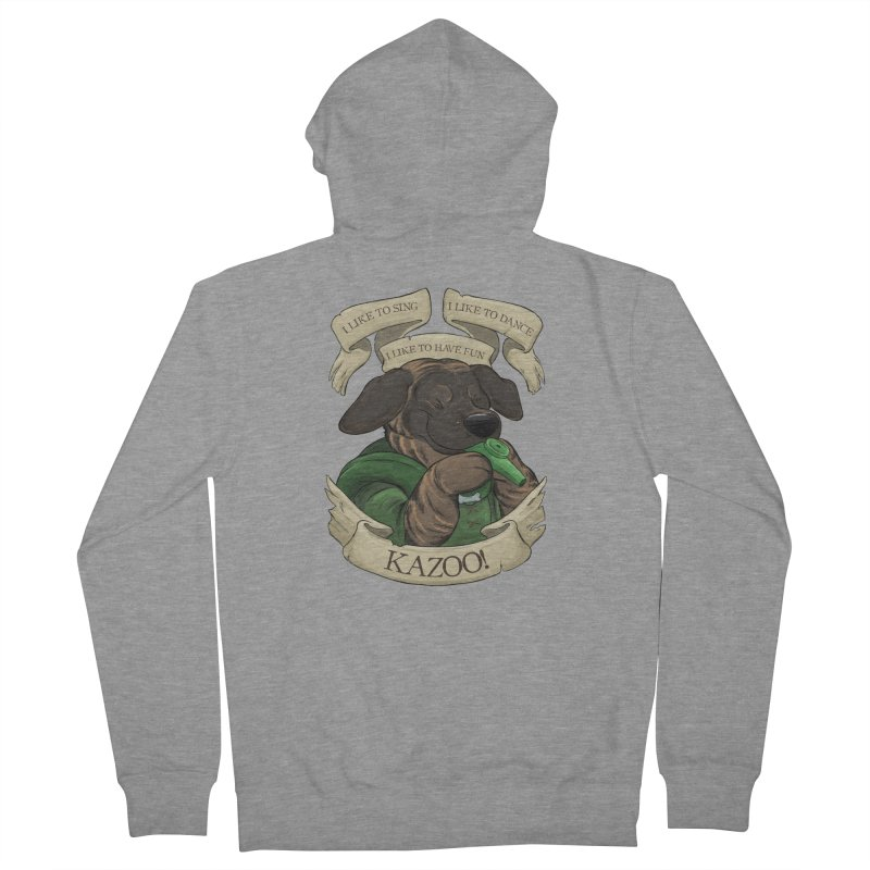 KAZOO! Tonka the Bard Women's French Terry Zip-Up Hoody by DnDoggos's Artist Shop