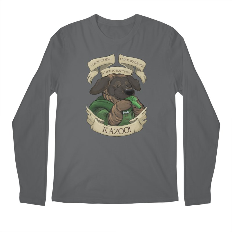 KAZOO! Tonka the Bard Men's Regular Longsleeve T-Shirt by DnDoggos's Artist Shop