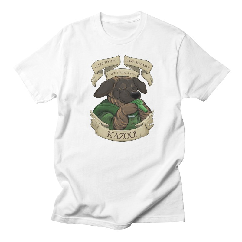 KAZOO! Tonka the Bard Men's Regular T-Shirt by DnDoggos's Artist Shop