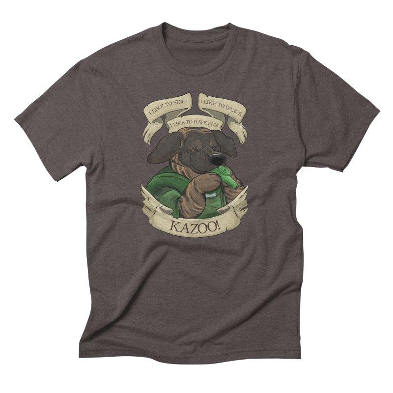 KAZOO! Tonka the Bard Men's Triblend T-Shirt by DnDoggos's Artist Shop