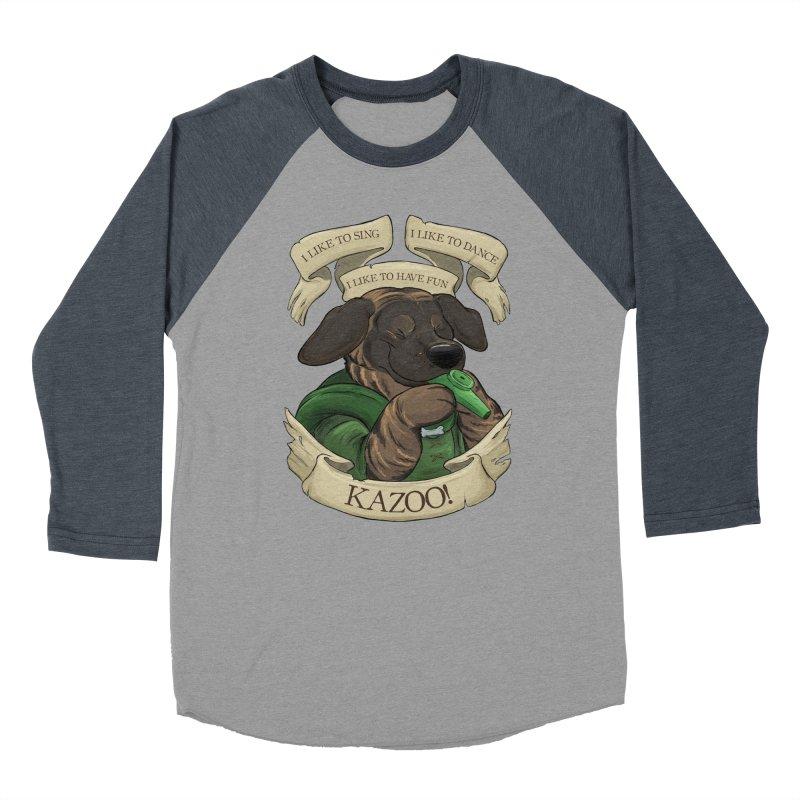 KAZOO! Tonka the Bard Men's Baseball Triblend Longsleeve T-Shirt by DnDoggos's Artist Shop