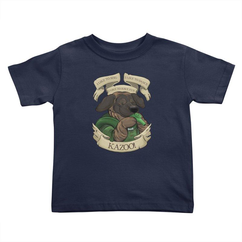 KAZOO! Tonka the Bard Kids Toddler T-Shirt by DnDoggos's Artist Shop