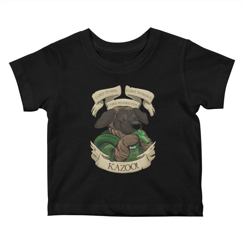 KAZOO! Tonka the Bard Kids Baby T-Shirt by DnDoggos's Artist Shop