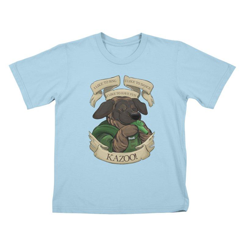 KAZOO! Tonka the Bard Kids T-Shirt by DnDoggos's Artist Shop