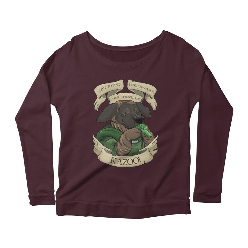 KAZOO! Tonka the Bard Women's Scoop Neck Longsleeve T-Shirt by DnDoggos's Artist Shop