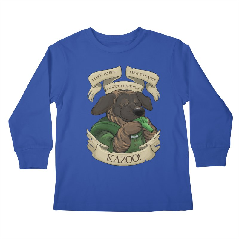 KAZOO! Tonka the Bard Kids Longsleeve T-Shirt by DnDoggos's Artist Shop