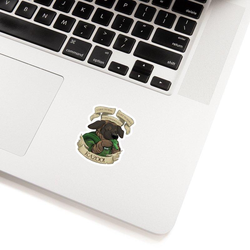 KAZOO! Tonka the Bard Accessories Sticker by DnDoggos's Artist Shop