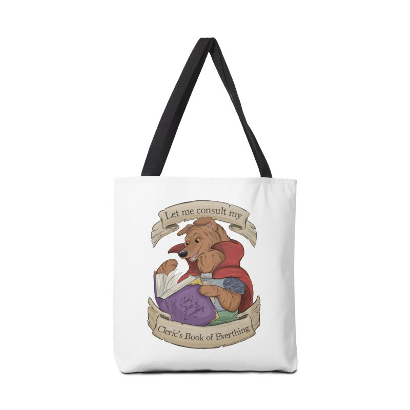 Cleric's Book of Everything Accessories Tote Bag Bag by DnDoggos's Artist Shop