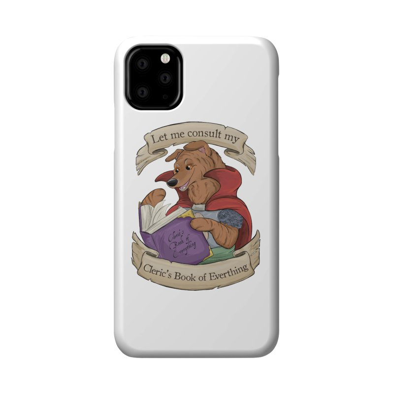 Cleric's Book of Everything Accessories Phone Case by DnDoggos's Artist Shop