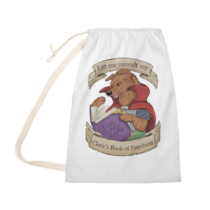 Cleric's Book of Everything Accessories Bag by DnDoggos's Artist Shop
