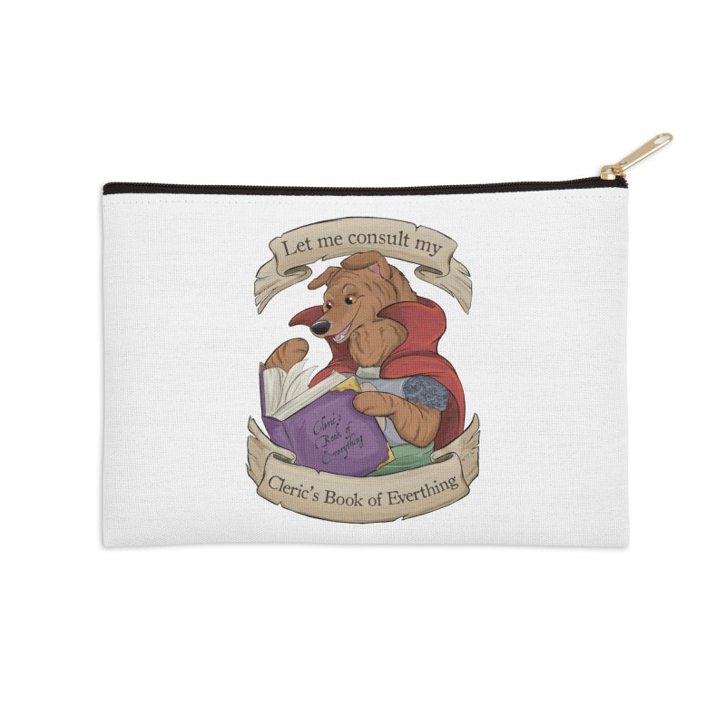 Cleric's Book of Everything Accessories Zip Pouch by DnDoggos's Artist Shop