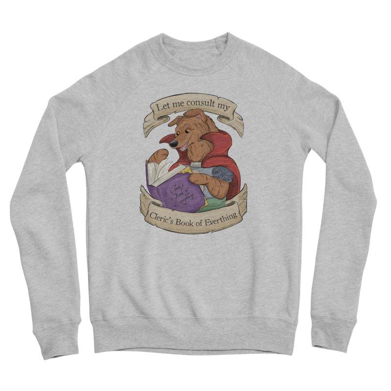 Cleric's Book of Everything Men's Sponge Fleece Sweatshirt by DnDoggos's Artist Shop