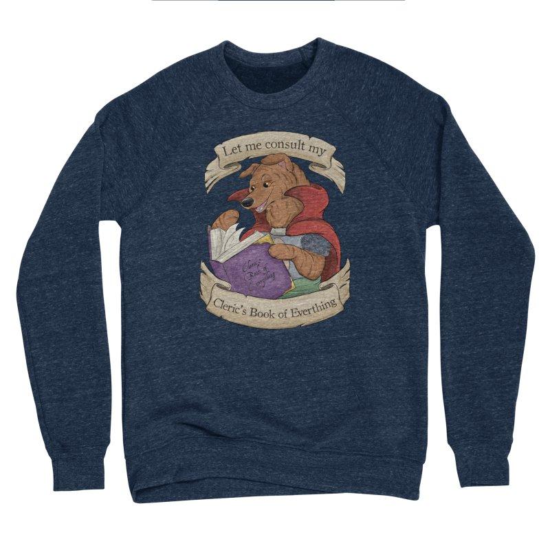 Cleric's Book of Everything Women's Sponge Fleece Sweatshirt by DnDoggos's Artist Shop