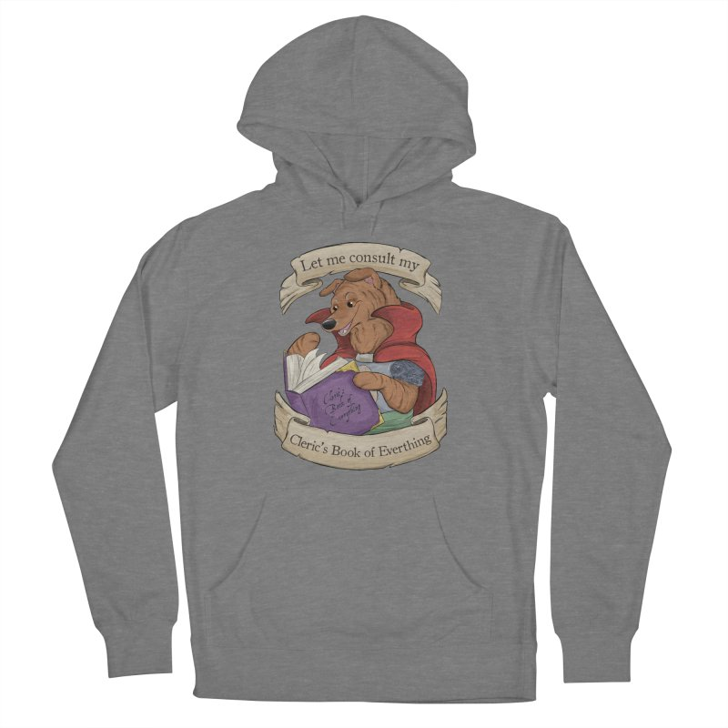 Cleric's Book of Everything Women's French Terry Pullover Hoody by DnDoggos's Artist Shop