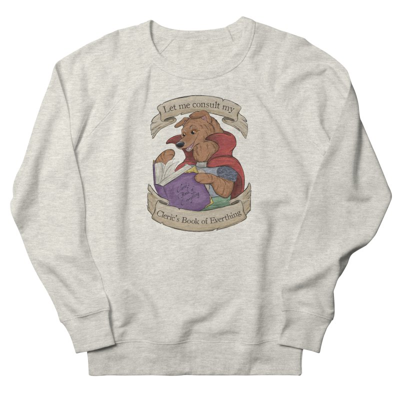 Cleric's Book of Everything Men's French Terry Sweatshirt by DnDoggos's Artist Shop